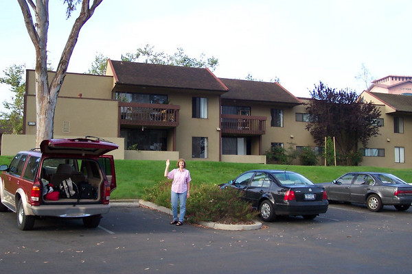 Moving to San Diego  - 08.05.2003