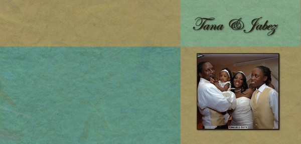 Tana & Jabez'sPhotoBook