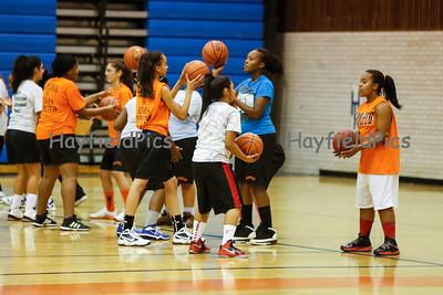 Girls Basketball Tryouts 11/7/12