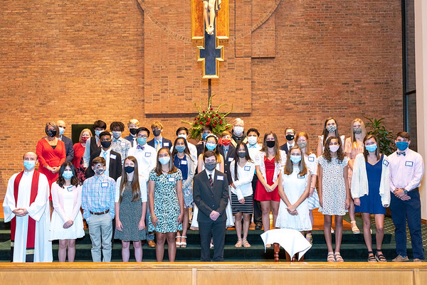 2020 St. Anne Confirmation June 10th