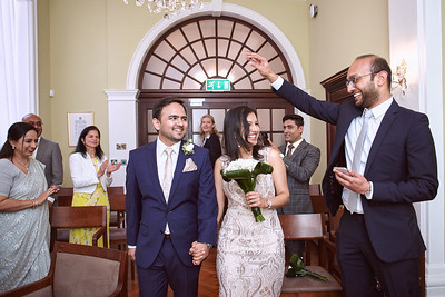London Marriage Ceremony  at  Royal Borough of Kensington and Chelsea