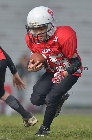 West Albany vs. South Albany Mighty Mite Pop Warner Football