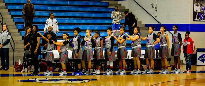 Lady Panthers vs  Sam Houston 12-13-16