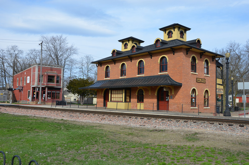 Galena train station.