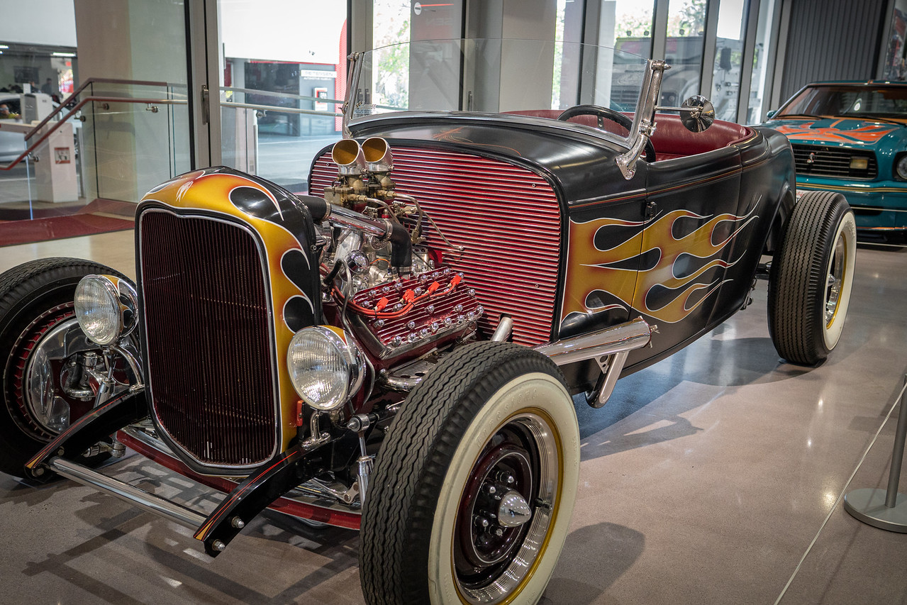 Joh Favreau's hot rod featured in the first Iron Man movie