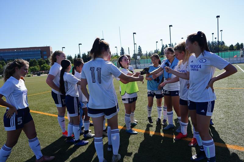8/25/19:  Pacifica United U14 Riptides vs MVLA at Google Athletic Complex in Mountain View, Ca.