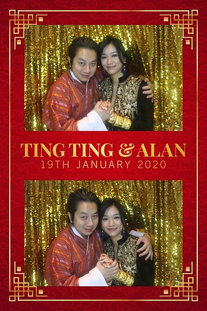 Ting Ting & Alan - 19th Jan 2020