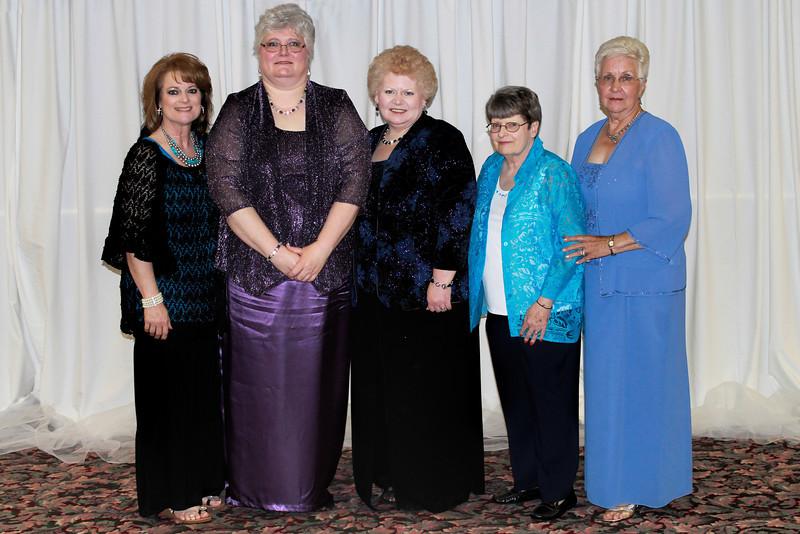 Beta Chi - DeAnn Stewart, Ann Southall, Tammy Akines, Floy Davis, Charlotte Garrett