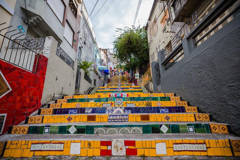 Lapa steps in Rio de Janeiro