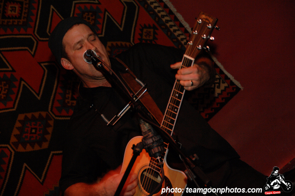 Chuck Ragan - at Tangiers - Los Angeles, CA - February 19, 2007