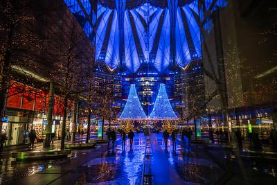 Sony Center at Potsdamer Platz.