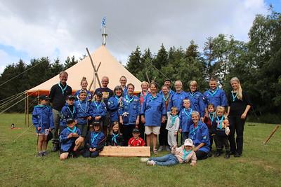 Herlevspejdernes sommerlejr i Jægerspris 2020