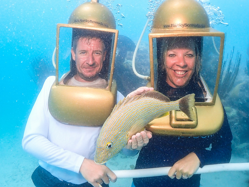 hartley's helmet diving