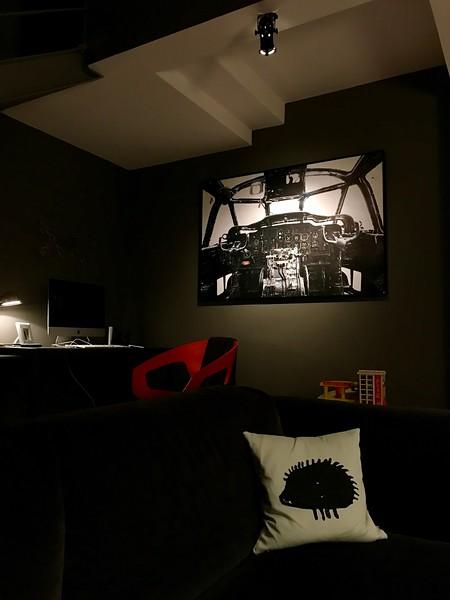 Noratlas -Tirage  90X135 cm sur papier Fine Art satin 310 gr - Alu dibond en Caisse US Alu noire