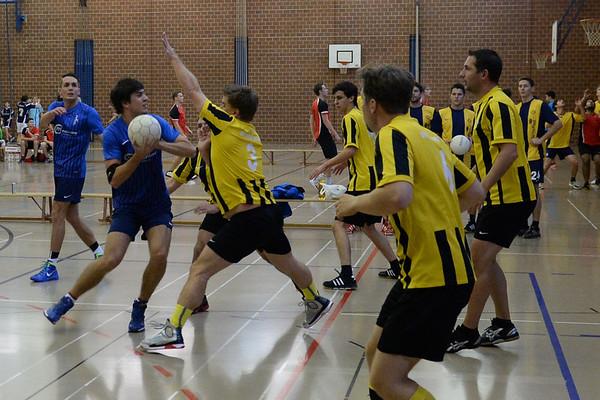 Korbball Wintermeisterschaft, 1. Runde