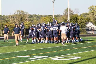 2016-08-26 -- Twinsburg Tigers Varsity Football  vs Copley High School