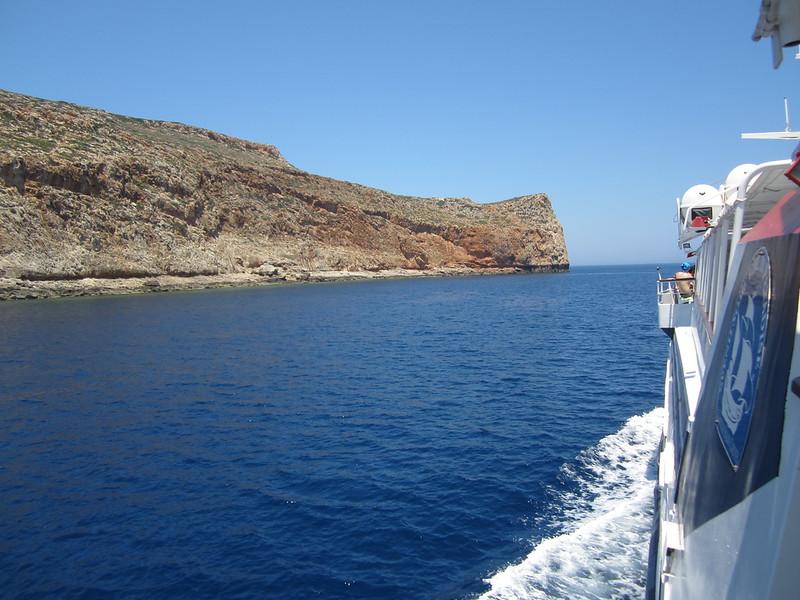 Ferry to Gramvousa