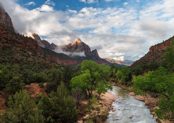 Zion - The Virgin River Bridge View.jpg