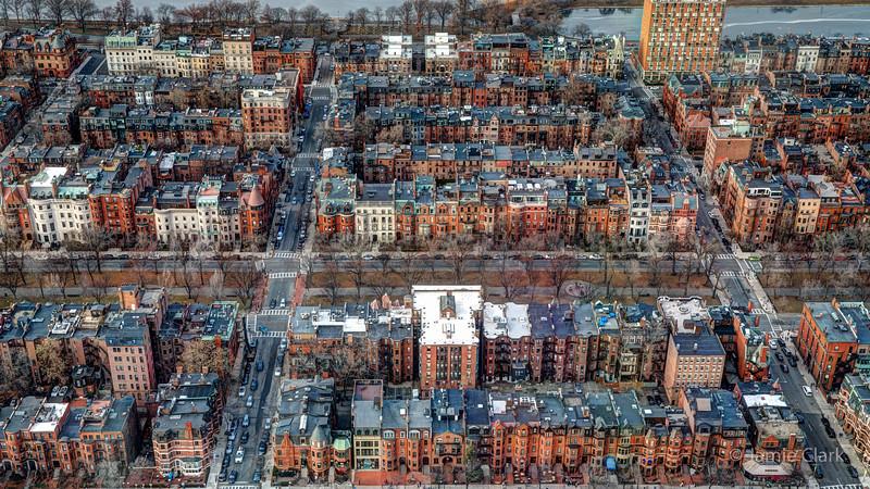 Prudential Tower and views - Winter Break in Boston 2016-17