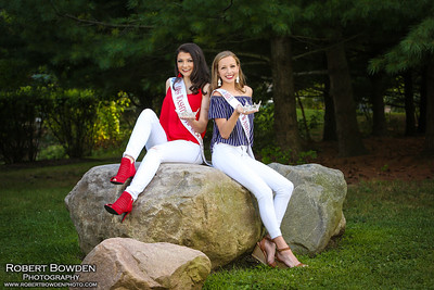 Breckyn and Hannah - Miss Washtenaw County 2019