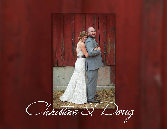 Christine and Doug Wedding Album