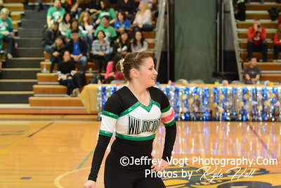 1-30-2016 Walter Johnson HS Varsity Poms at Damascus HS, Photos by Jeffrey Vogt Photography with Kyle Hall