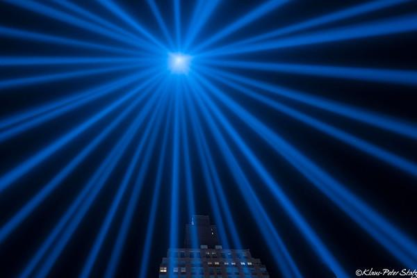 Tribute in Light - Remembering September 11, 2001