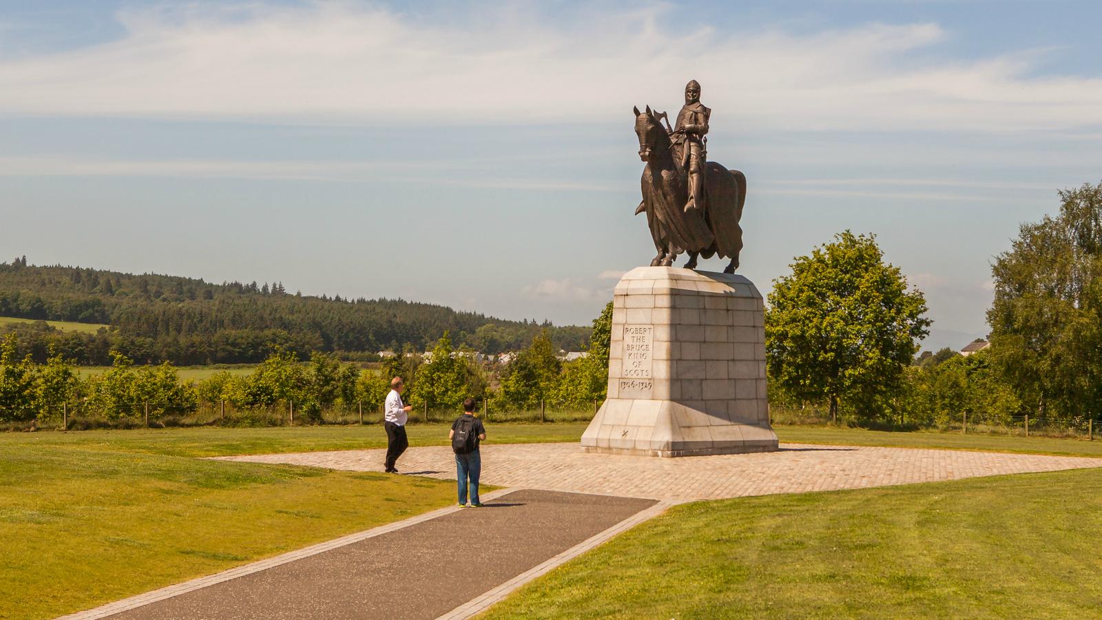 苏格兰班诺克本纪念碑,第一次独立战争的标志