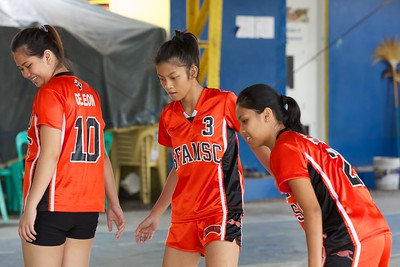 HS Volleyball Girls 2012-13 SFAMSC vs ACEM
