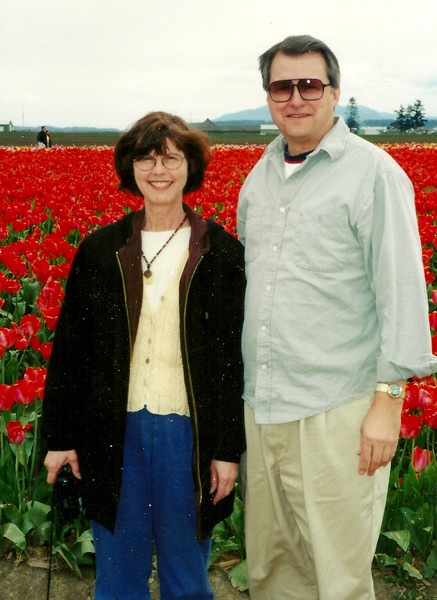 Elaine and Steve - The amazing Dutch Tulips in Wash. State