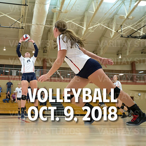 Prairie Volleyball 10-9-2018
