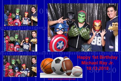 Michael Jr 1st BDay 10.13.18