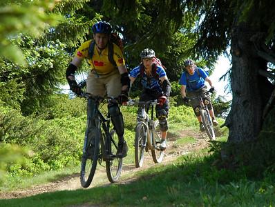 Mountain Biking, Morzine May 2006