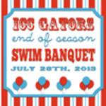 ICC Gators End of Season Swim Banquet