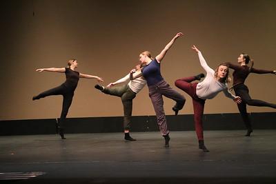 GU Dance Performance at SGS 12-6-19