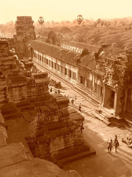 Aerial View of Angkor Wat - Angkor, Cambodia