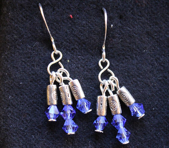 Bead and Clay Earrings