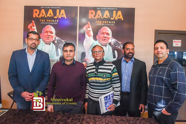 RAJA the One Man - Live in Concert - Press Meet