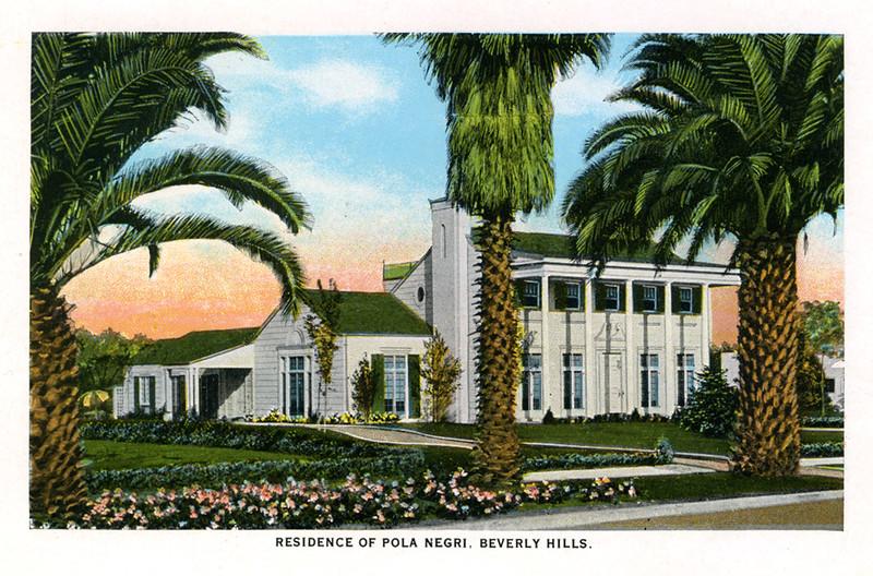 Residence of Pola Negri