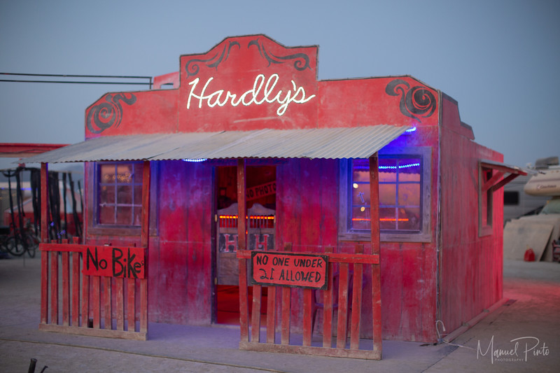 Hardly Camp.                            430 & Esplanade