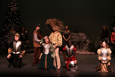 """HS Theatre - 5/9/2012 """"The Lion, The Witch and The Wardrobe"""" Dress Rehearsal"""