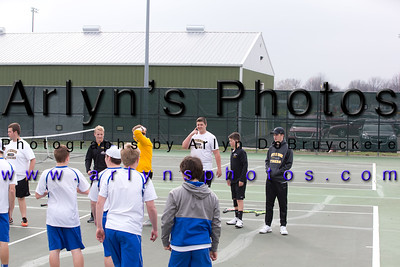 Hutch Boys Tennis vs STMA