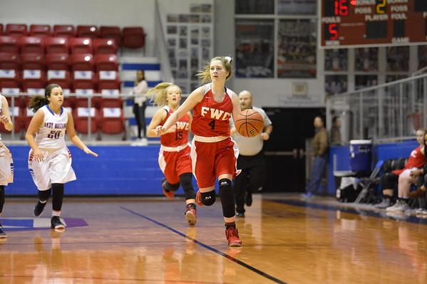 FWC JV Basketball  1-27-2017