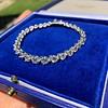 10.50ctw Round Brilliant Diamond Tennis Bracelet 16