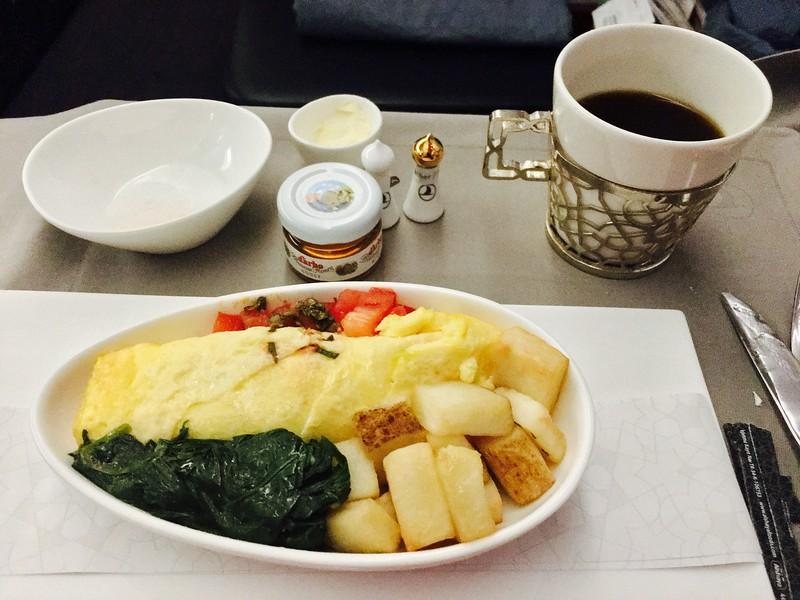 Desayuno! Omelette con vegetales