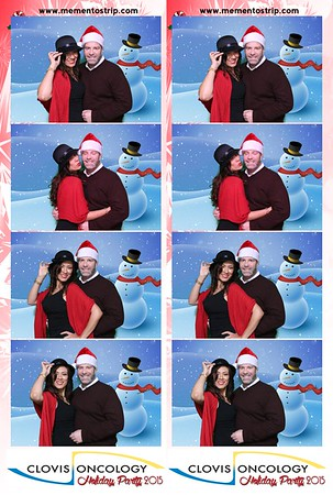 CLovis Oncology Holiday Party 2015