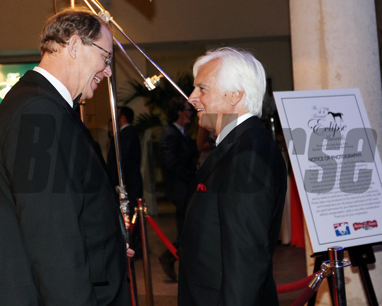 Elliott Walden, Bob Baffert, Eclipse Awards, 2018 , Gulfstream Park