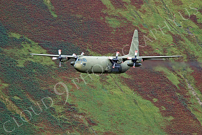 British RAF  Lockheed C-130 Hercules Military Airplane Pictures