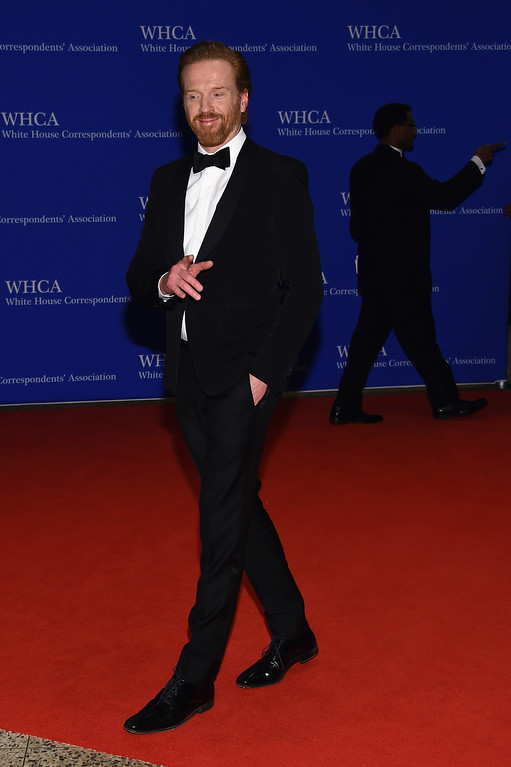 . Actor Damian Lewis attends the 102nd White House Correspondents\' Association Dinner on April 30, 2016 in Washington, DC.  (Photo by Larry Busacca/Getty Images)