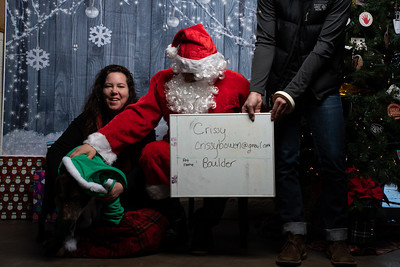Humane Society with santa